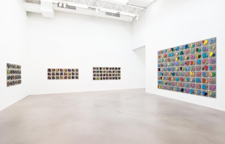 Allan McCollum, The Shapes Project: Perfect Couples, (Installation View) courtesy Petzel Gallery