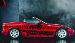 An A.R. Penck BMW, via Bloomberg