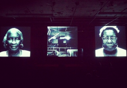 Bradford Young, Bynum Cutler (2014), via Art Observed