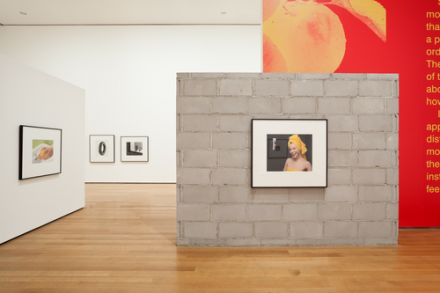 Installation view of Christopher Williams: The Production Line of Happiness via The Museum of Modern Art, 2014.