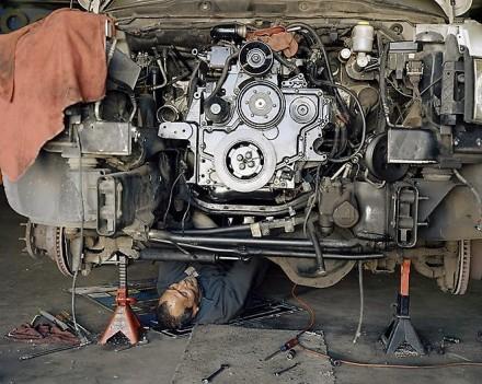 Justine Kurland, Rebuilt Engine (2014) via Mitchell-Innes and Nash
