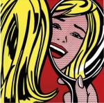 Lichtenstein's Girl in Mirror, via Christie's