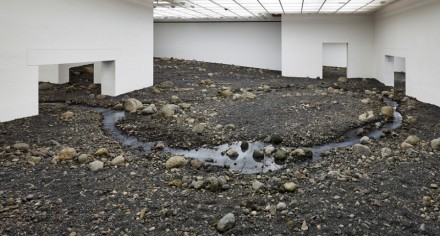 Olafur Eliasson, Riverbed  (2014), via Louisiana Museum of Modern Art