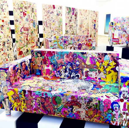 Rob Pruitt, Multiple Personalities (Installation View), via Art Observed