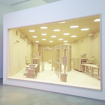 Roxy Paine, Checkpoint (2014), via Henry Murphy for Art Observed