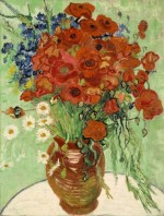 Vincent Van Gogh, Still Life with Daisies and Poppies, via Observer