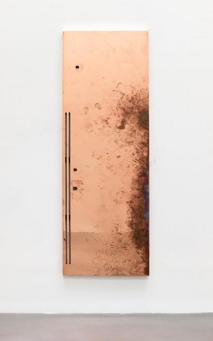 Walead Beshty, Reception 3 (2014) via Petzel Gallery
