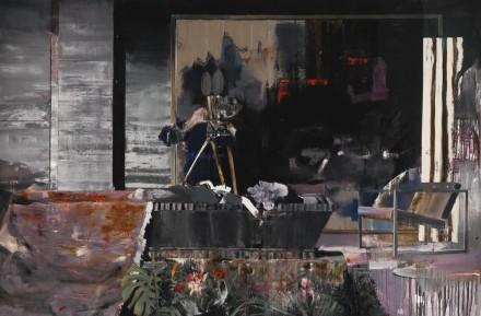 Adrien Ghenie, Duchamp's Funeral I (2009), via Sotheby's