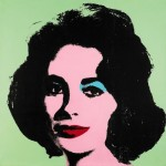 Andy Warhol Portrait of Liz Taylor, via Bloomberg