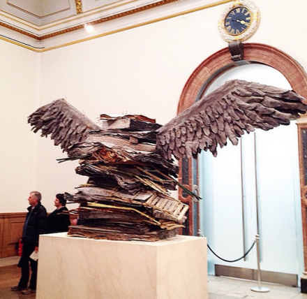 Anselm Kiefer at Royal Academy of Arts (Installation View)