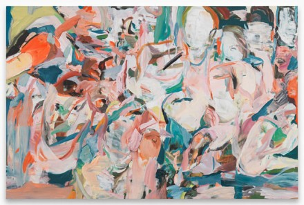 Cecily Brown, We Think the Same Things at the Same Time (2014), via Contemporary Fine Arts