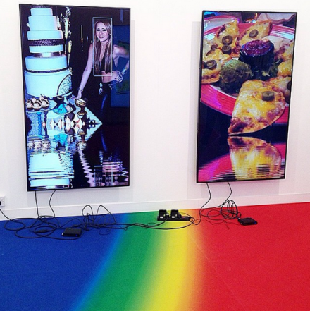 Cory Arcangel at Lisson, via Art Observed