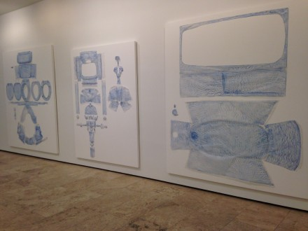 Do Ho Suh: Drawings, (Installation View)