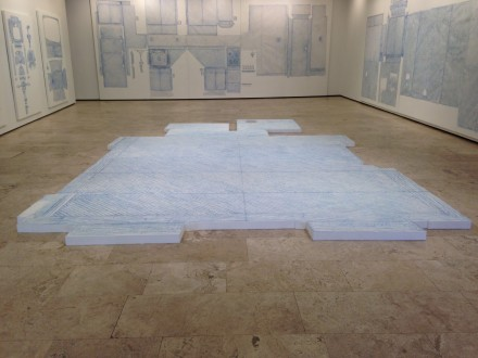 Do Ho Suh: Drawings (Installation View)