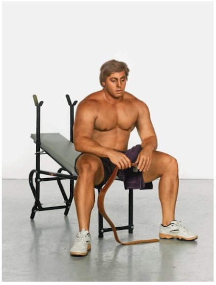 Duane Hanson, Body Builder (1995)