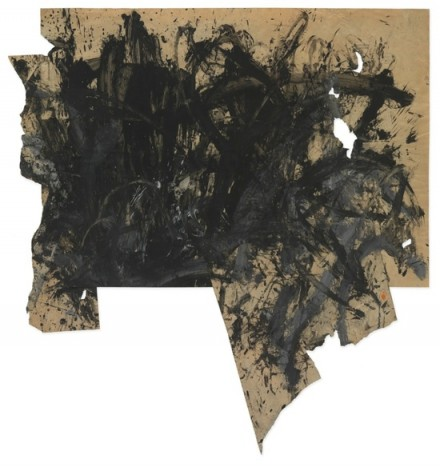 Günter Brus, Aktionsmalerei (Action Painting) (1962), © 2014 Artists Rights Society (ARS), New York : Bildrecht, Vienna