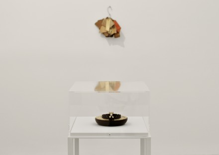 Gabriel Orozco (Installation View), via Sophie Kitching for Art Observed