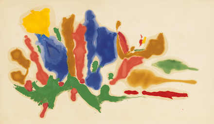 Helen Frankenthaler, Cool Summer (1962), Courtesy Gagosian Gallery