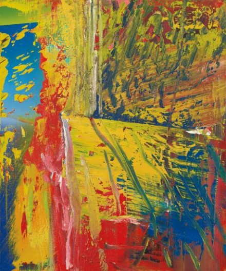 Gerhard Richter, UL (1985), via Phillips