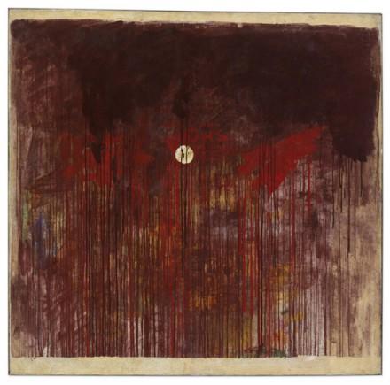Hermann Nitsch, Brot und Wein (Bread and Wine (1961), © 2014 Artists Rights Society (ARS), New York : Bildrecht, Vienna
