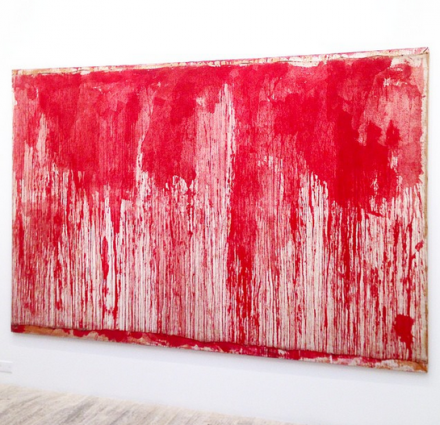 Hermann Nitsch at Hauser and Wirth, via Art Observed
