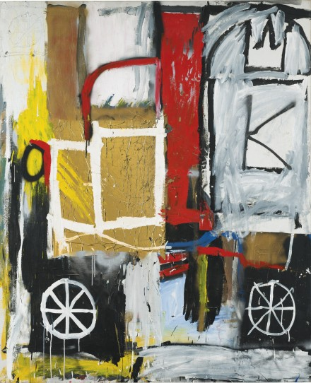 Jean-Michel Basquiat, Untitled (1981), via Sotheby's