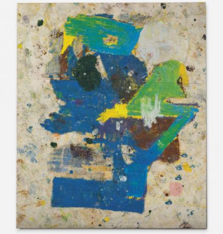 Joe Bradley, Untitled (2011), via Christie's
