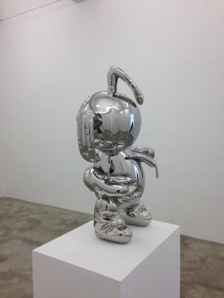 Jonathan Monk, A Copy of Deflated Sculpture No. 1 (2009-2014), all photos via Casey Kaplan