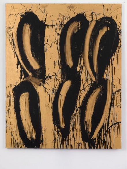 Joyce Pensato, Them Eyes (2014), via Lisson