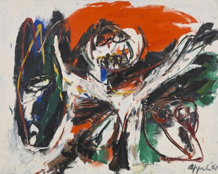 Karel Appel, Donkey (1961), via Blum and Poe