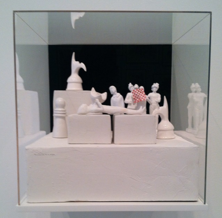 Marcel Dzama, Procession for a Pawn (2014), via David Zwirner