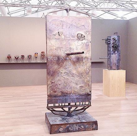 Mark Grotjahn at Anton Kern, via Art Observed