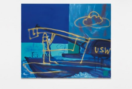 Martin Kippenberger, Untitled (from the series Krieg Böse:War Wicked) (1991), via Phillips