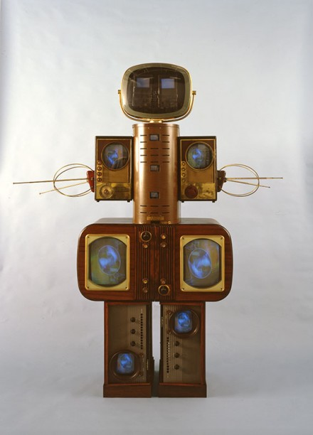 Nam June Paik, Family of Robot: Mother (1986), Image courtesy of Nagoya City Art Museum