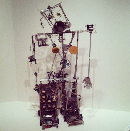 Nam June Paik, Robot K-456 (1964), via Art Observed