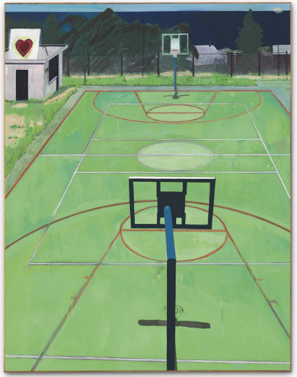 Peter Doig, The Heart of Old San Juan (1999), via Christie's