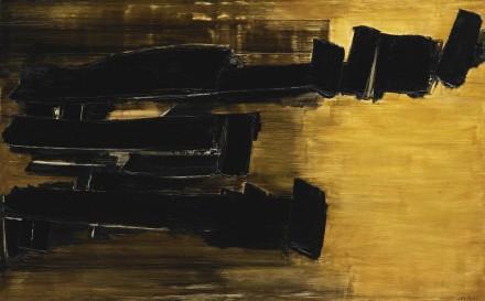 Pierre Soulages, Peinture 125 X 202CM, 30 OCTOBRE 1958 (1958), via Sotheby's