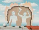 René Magritte's Mesdemoiselles de l'Isle Adam, via Art Newspaper