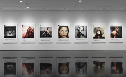 Richard Prince, Portraits (Installation View), Courtesy Gagosian Gallery. Photograph By Robert Mckeever.