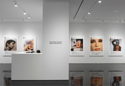 Richard Prince, Portraits (Installation View), Gagosian Gallery