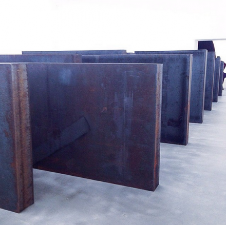 Richard Serra, Ramble (2014), via Art Observed