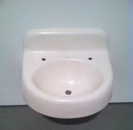 Robert Gober, Small Bathroom Sink (1984), via Art Observed