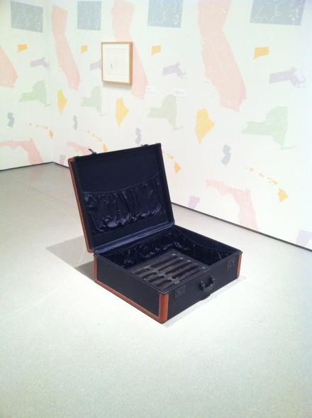 Robert Gober, The Heart is Not a Metaphor (Installation View), via Art Observed
