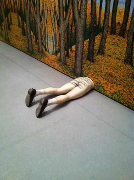 Robert Gober, Untitled (1990), via Art Observed