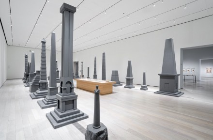 Sam Durant, Proposal for White and Indian Dead Monument Transpositions, Washington D.C, (2005), via LACMA