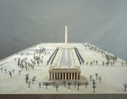 Sam Durant, Proposal for White and Indian Dead Monument Transpositions, Washington D.C (2005), via Paula Cooper