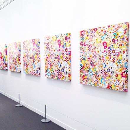 Takashi Murakami at Galerie Perrotin