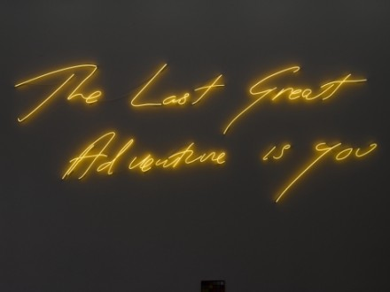 Tracey Emin, The Last Great Adventure is You (2014)