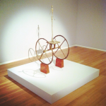 Alberto Giacometti, Chariot (1951-52), via Art Observed