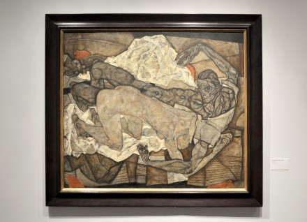 Egon Schiele, Man and Woman I (Lovers I) (1916)